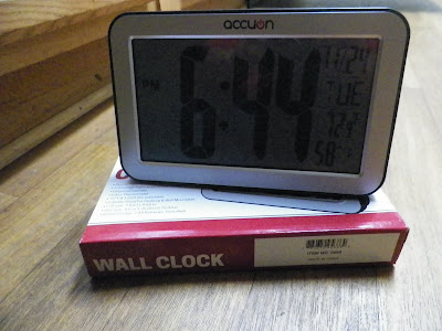 Accuon Digital Wall Clock