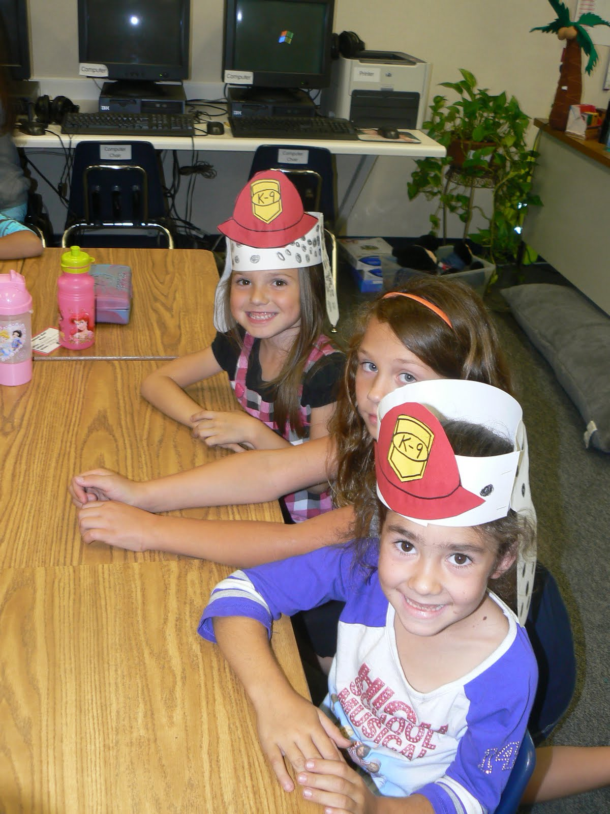 Mrs T S First Grade Class Fire Prevention