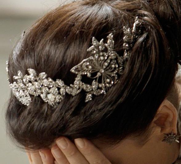 Nelita (Barbara Paz) coroa, casamento com Orlando, A regra do Jogo novela