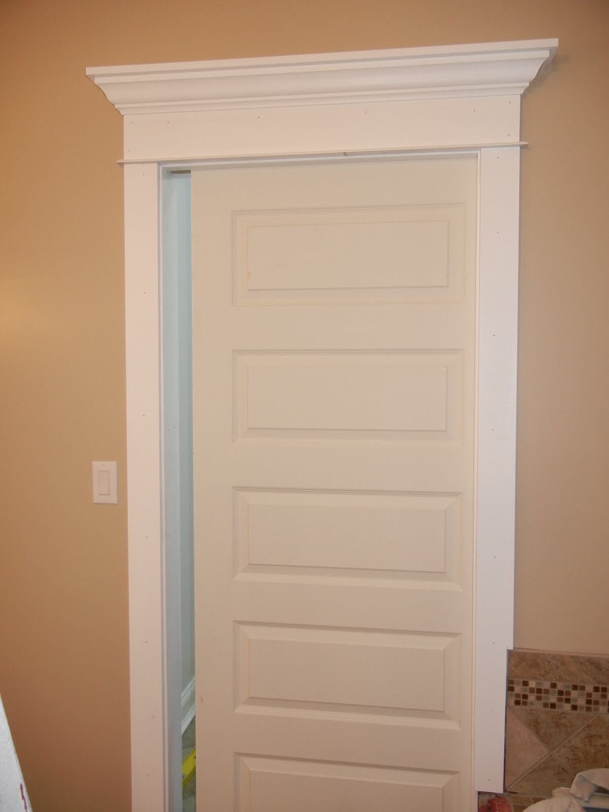 Double Oak Plantation: Master Closet (pocket)) Door & Her ...