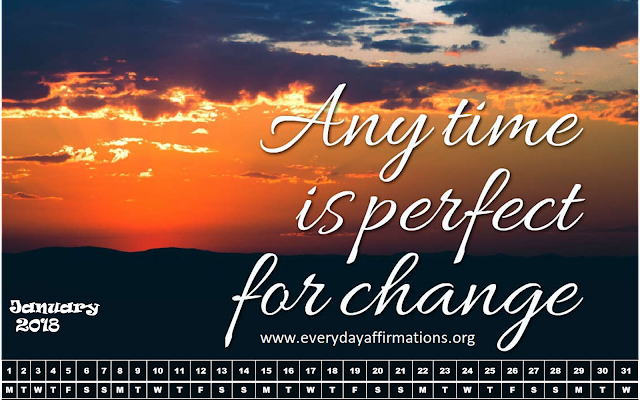 Monthly Affirmations Calendar, Positive Affirmations Calendar 2018, Affirmations Calendar for 2018, FREE DOWNLOAD, Affirmations Videos, Affirmation calendar