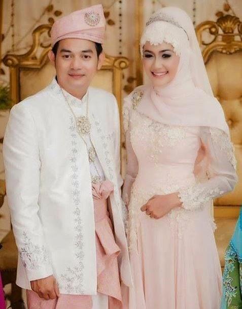 foto baju pengantin muslim