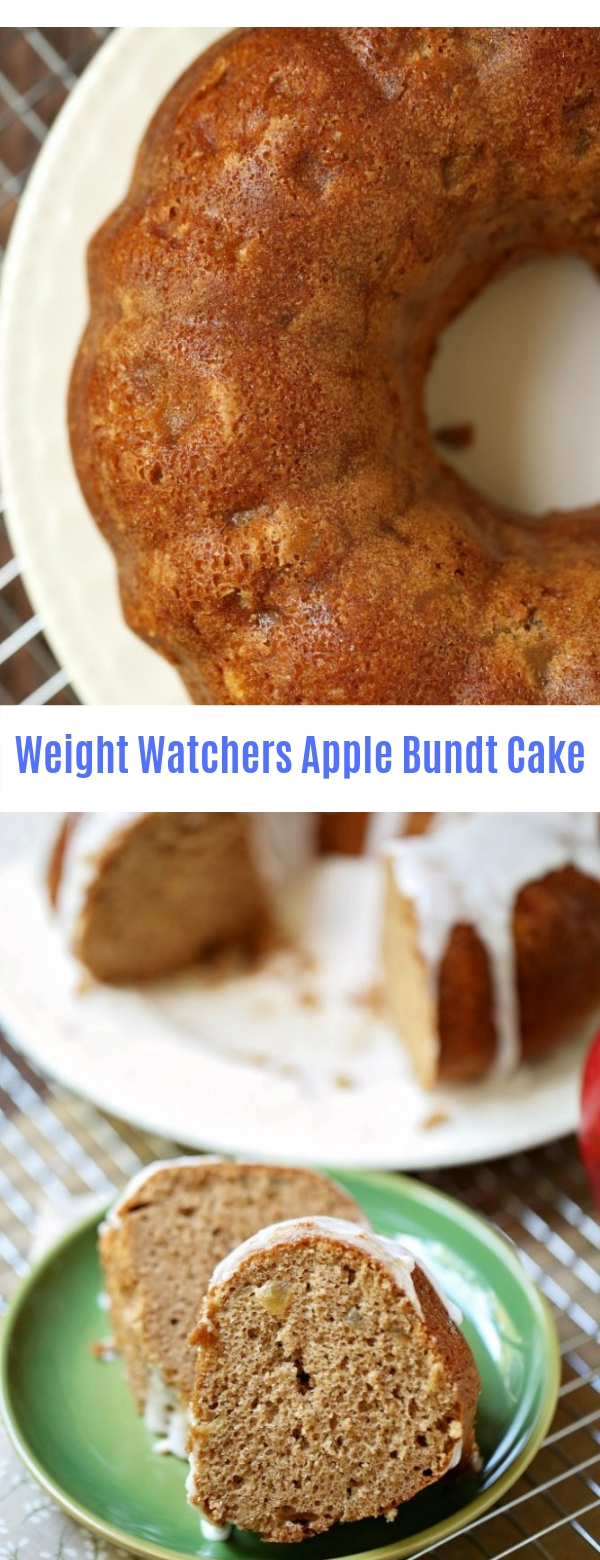 Weight Watchers Apple Bundt Cake