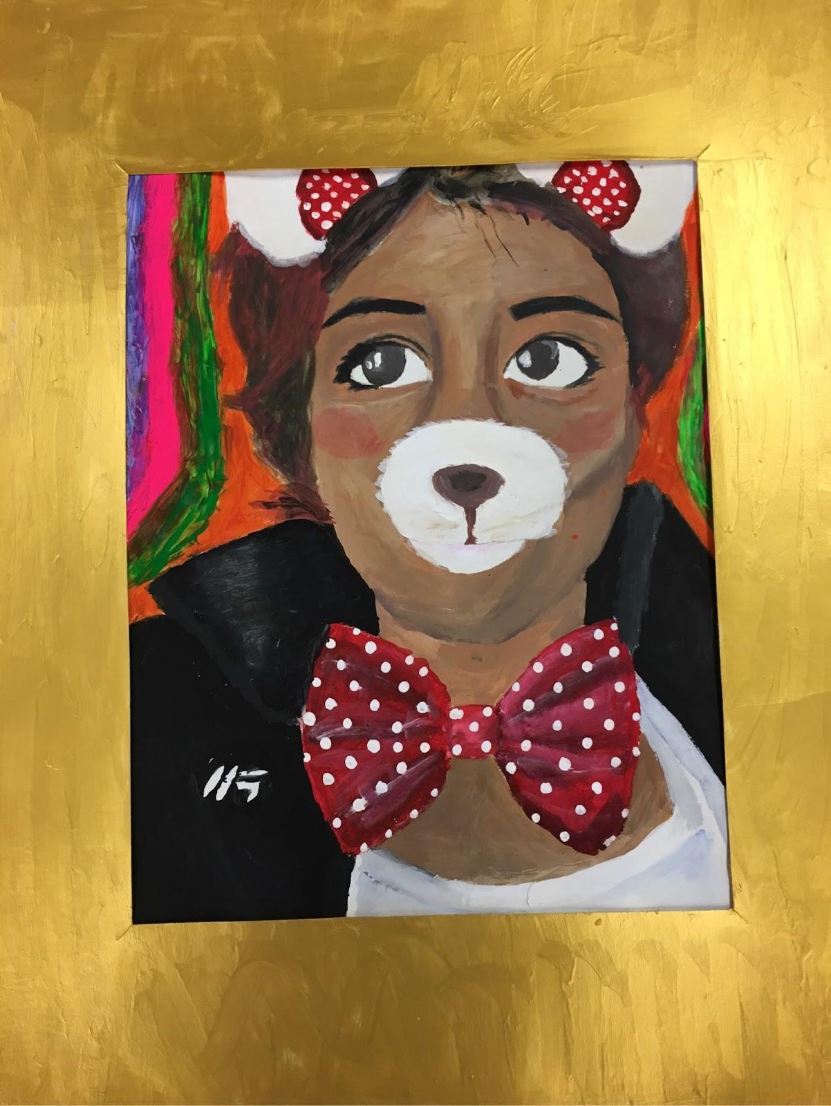 Art Eat Tie Dye Repeat Snapchat Self Portraits