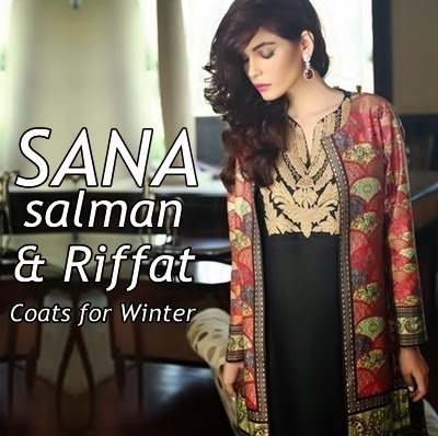 Sana Salman Winter Collection 2014-15 is in stores now. The designer of  Riffat   Sana clothing has introduced formal wear range in it. 2c7c73243