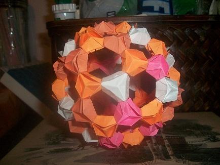 Tutorial for Origami Bucky Ball - YouTube | 326x434
