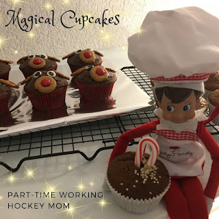Blog With Friends, a multi-blogger project based post incorporating a theme, Jolly | Magical Cupcakes by Tamara of Part-time Working Hockey Mom | Featured on www.BakingInATornado.com