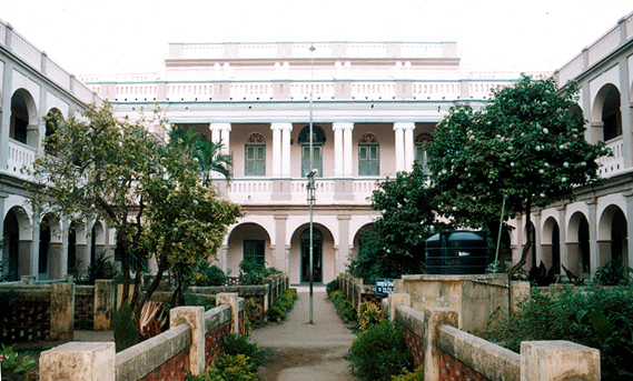 Ramanujan studied at the Kumbakonam Town High School