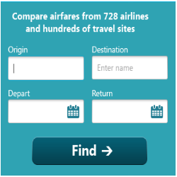 airfares travel online