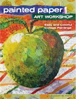 Painted Paper Art Workshop by Elizabeth St. Hilaire