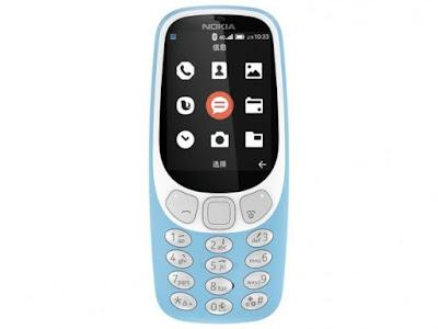 Spesifikasi Nokia 3310 4G - Android
