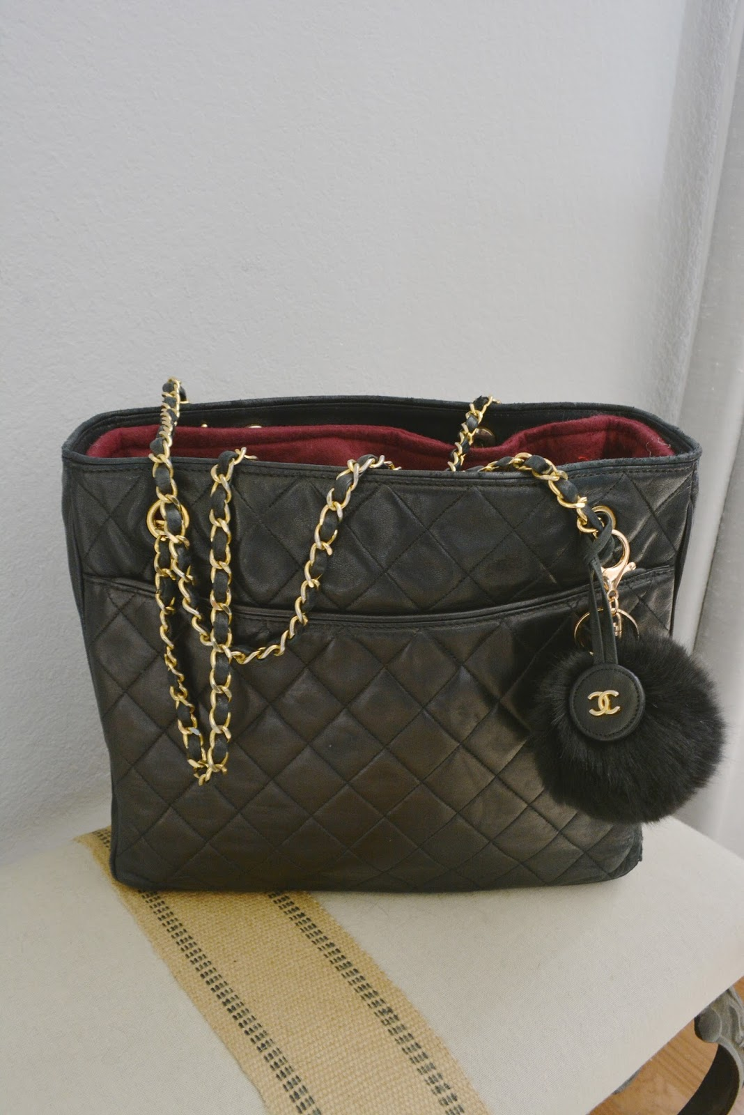 80's Chanel Tote, Vintage and Rehabbed
