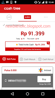 aplikasi pencari pulsa gratis cashtree