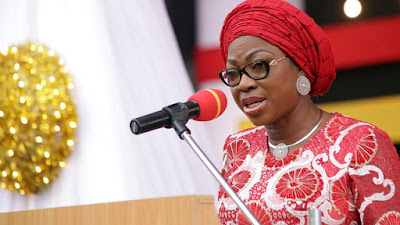 Ambode's wife charges women to speak out against domestic violence