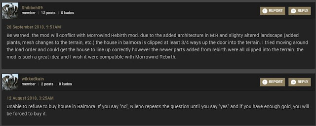 Morrowind Buy a House Review