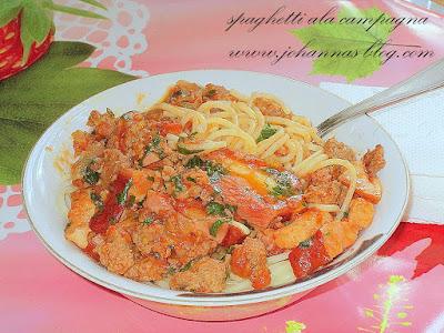 Spaghetti alla campagna