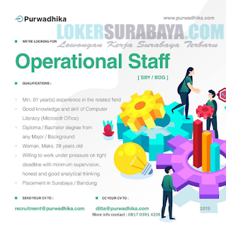 Open Recruitment at Purwadhika Surabaya May 2019