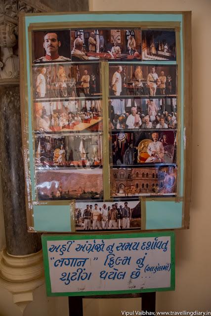 lagaan shoots in Pragmahal