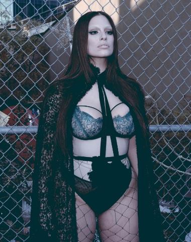 Plus Size Model Ashley Graham V Magazine Editorial Gate Shot