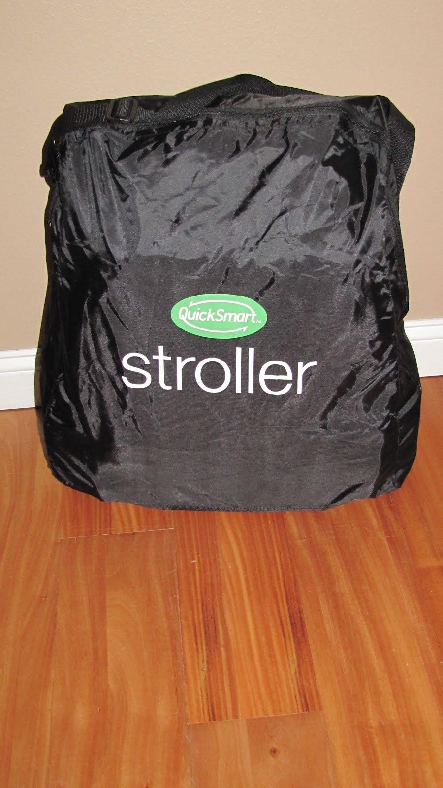 QuickSmart Easy Fold Stroller ~ Review