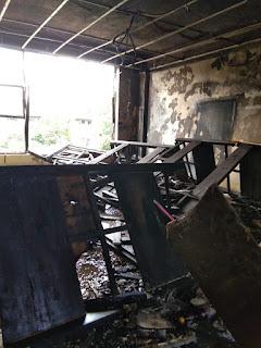 Ummul Qura, Kebakaran Saat Test Masuk Santri Baru Berlangsung