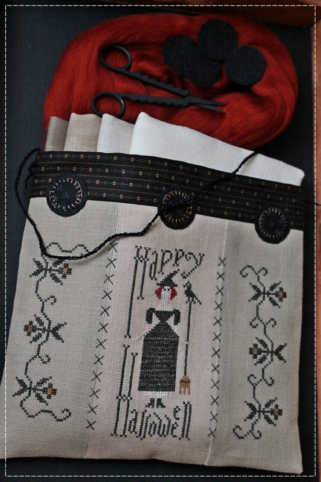 Happy Halloween Sewing Bag