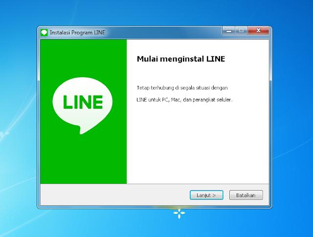 Cara Install Line di Laptop atau PC Dengan Mudah