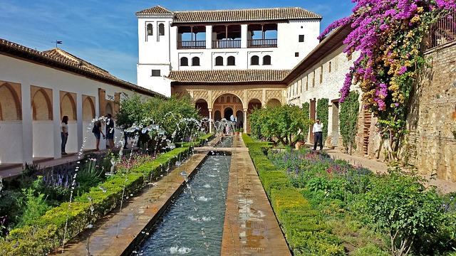 Generalife Granada, Generalife, Granada Spain, Barcelona, Madrid, Granada, Spain, Tourist Attraction, Things to do, Places to see, Historical Places, Historical Architecture,