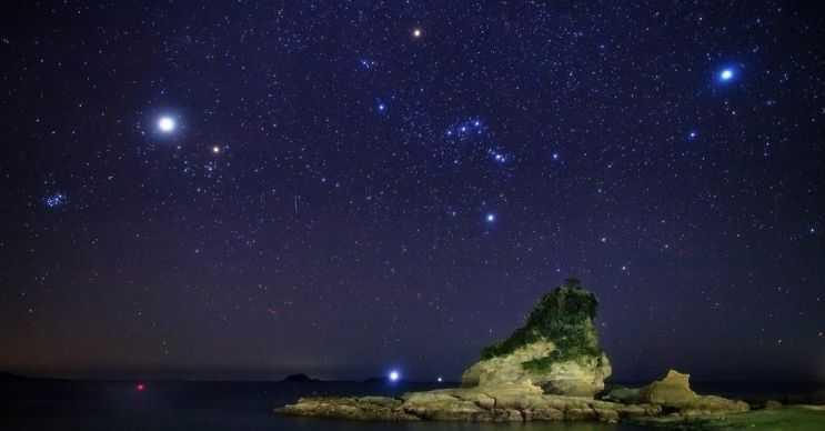 Bulutsuz, yıldızlı bir gökyüzünde yaklaşık 3.000 kadar yıldız görebilirsiniz.