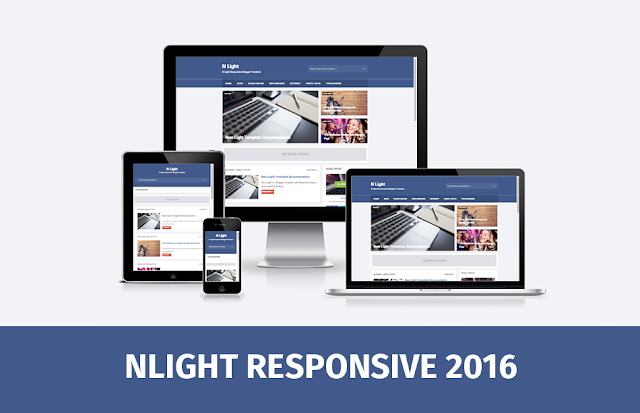 N Light Responsive and SEO Friendly Blogger Template 2016