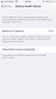 Cara Resmi dari Apple Untuk Cek Kesehatan Baterai iPhone dengan Battery Health