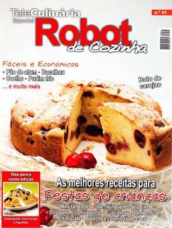 Revista Teleculinária Especial Robot de Cozinha Nº41, Junho 2011