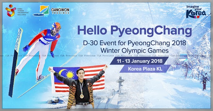 Hello PyeongChang ! D-30 Event for PyeongChang 2018 Winter Olympic Games