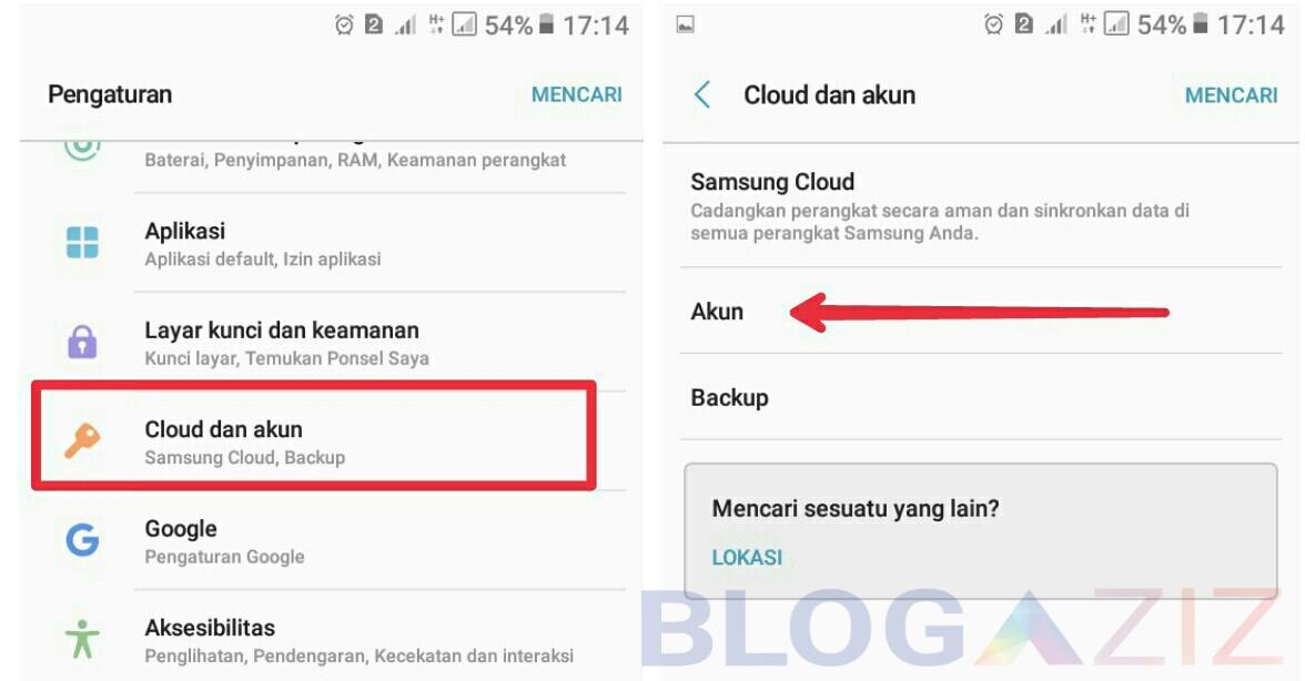 Cara hapus keluar dari email gmail di aplikasi hp android