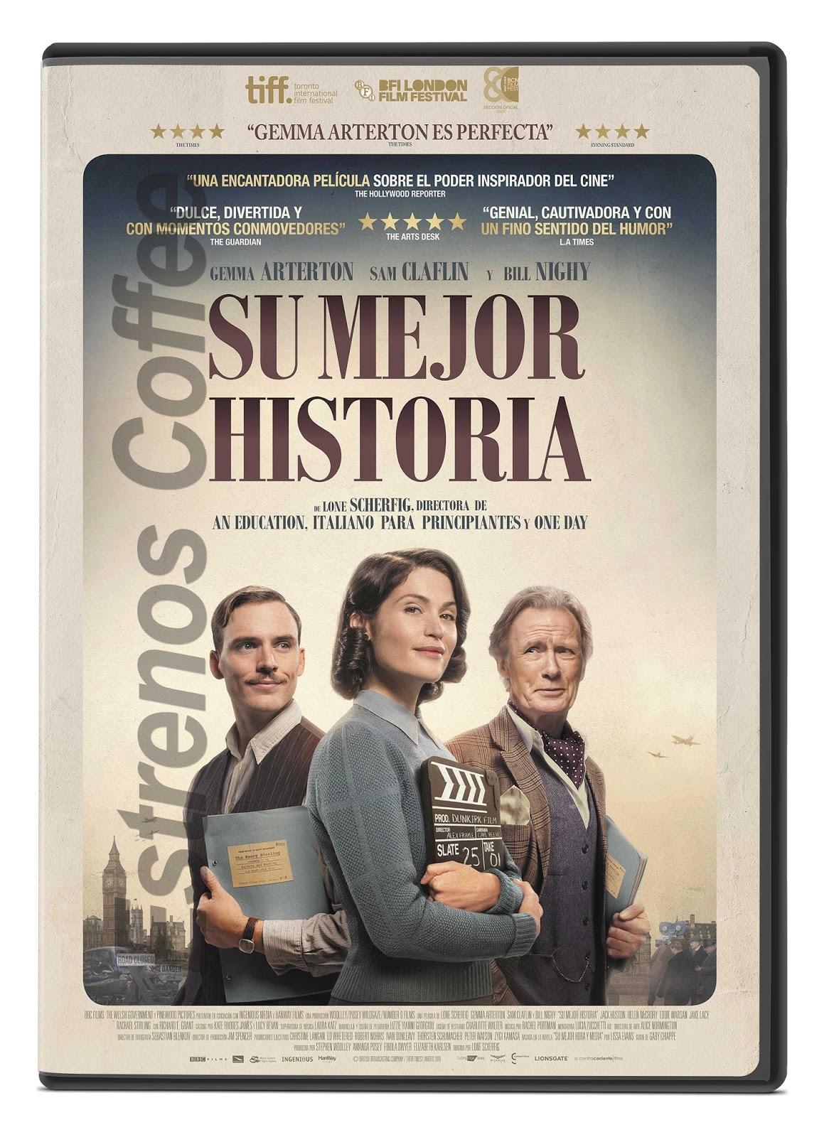 Su mejor historia DVD FULL latino - Estrenos Coffee