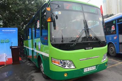 Khai trương xe buýt mới tuyến số 7 Bến xe Chợ Lớn-Gò Vấp