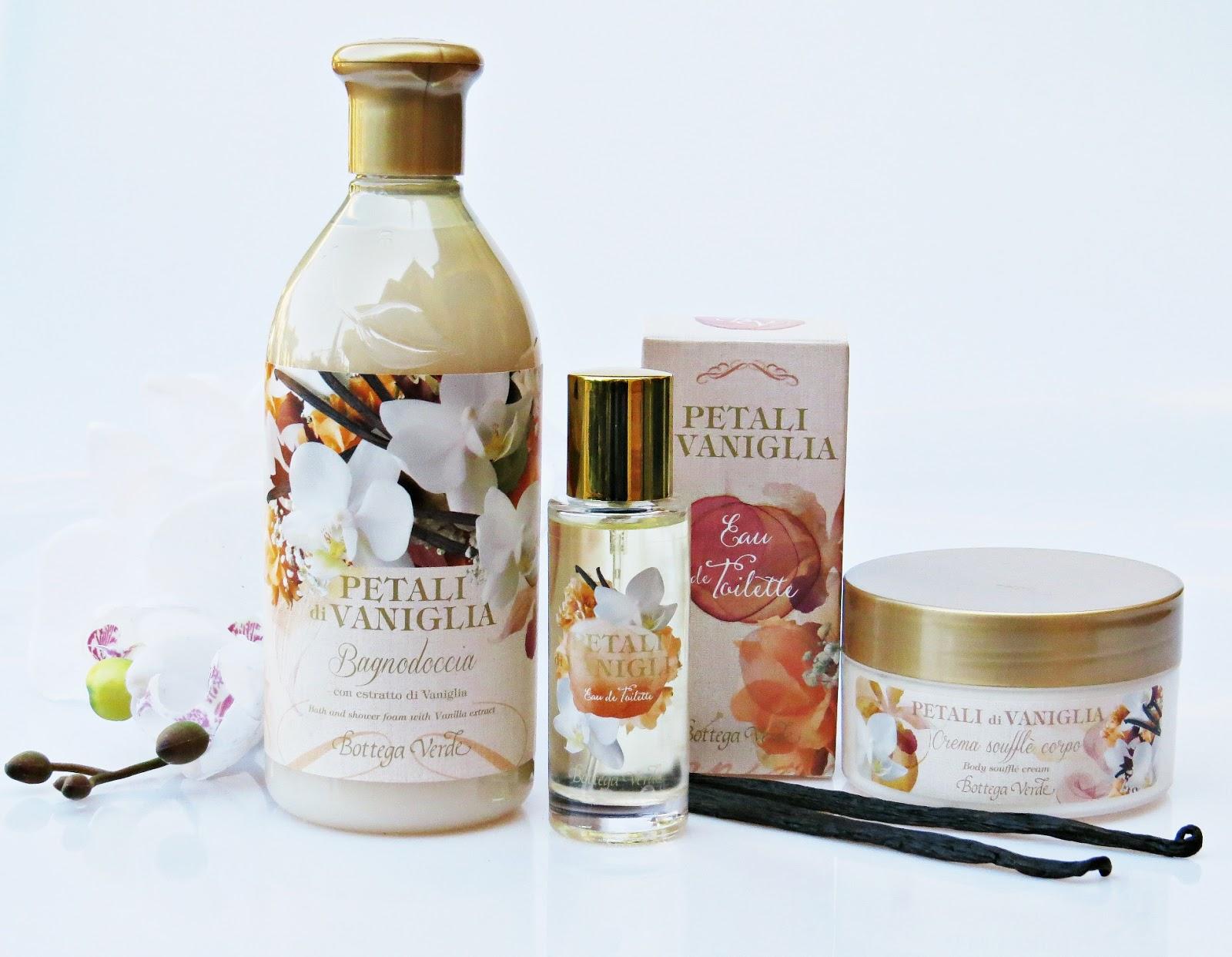 Bagno Doccia Bottega Verde : Belletto! make up and beauty blog: petali di vaniglia novità