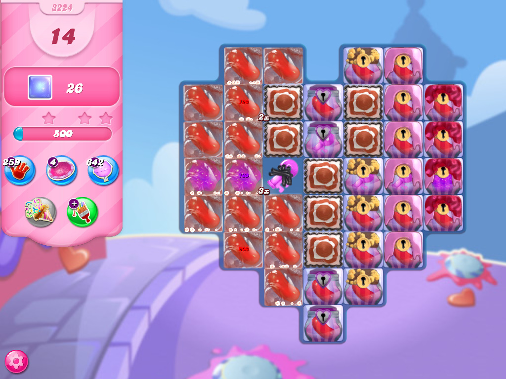 Candy Crush Saga level 3224