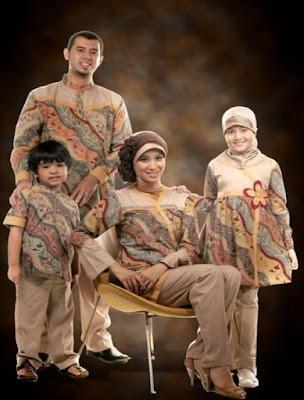 model baju batik muslim anak kreasi terbaru