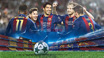 FC Barcelona PES 2017 Start Screen For PES 2016 by MT Games 1991