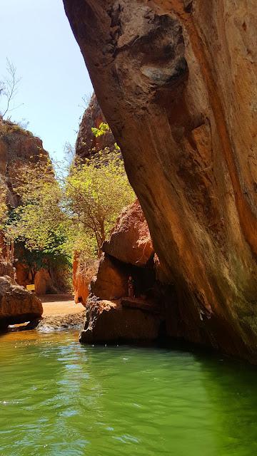 gruta do Talhado no Cânion do Xingó