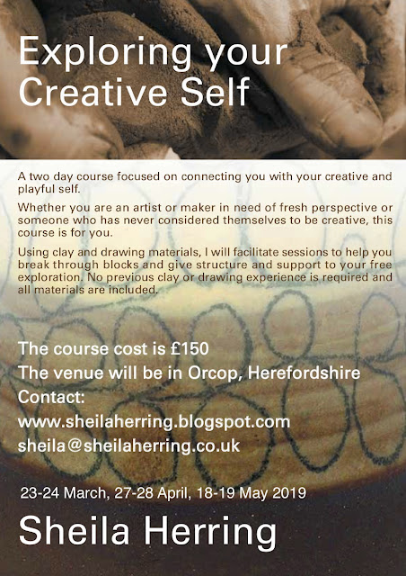 Creative clay and drawing course