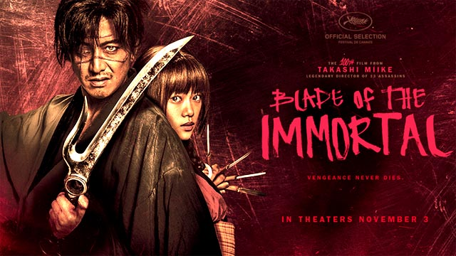 """Hollywood Movie """"Blade of the Immortal"""" Review"""