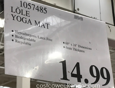 Deal for the Lole Yoga Mat & Strap at Costco