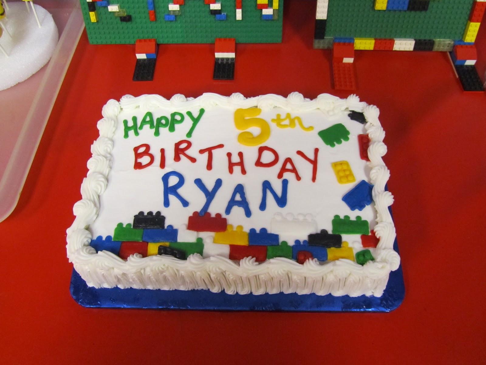 Lego Birthday Cake Kroger