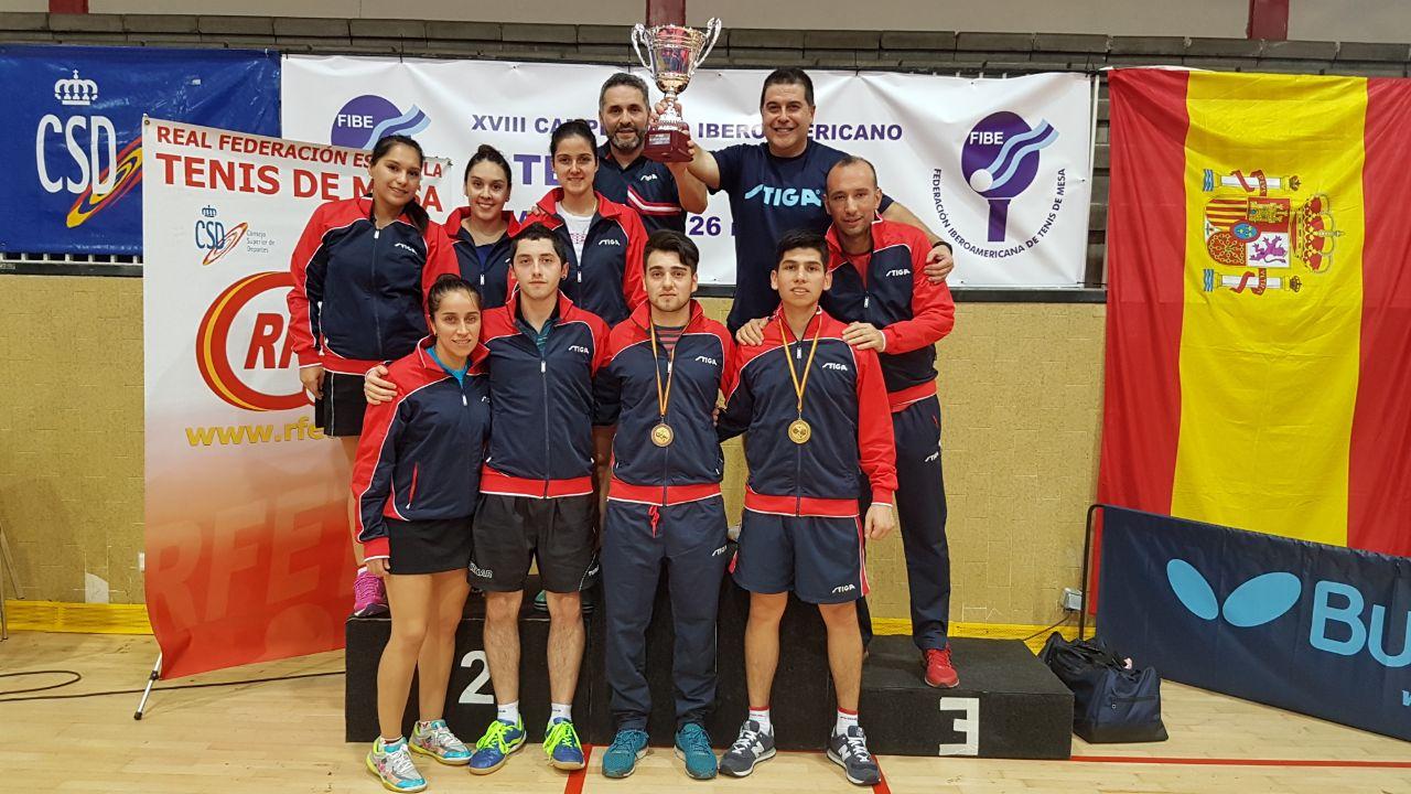 Histórica presentación de Chile en Iberoamericano de tenis de mesa