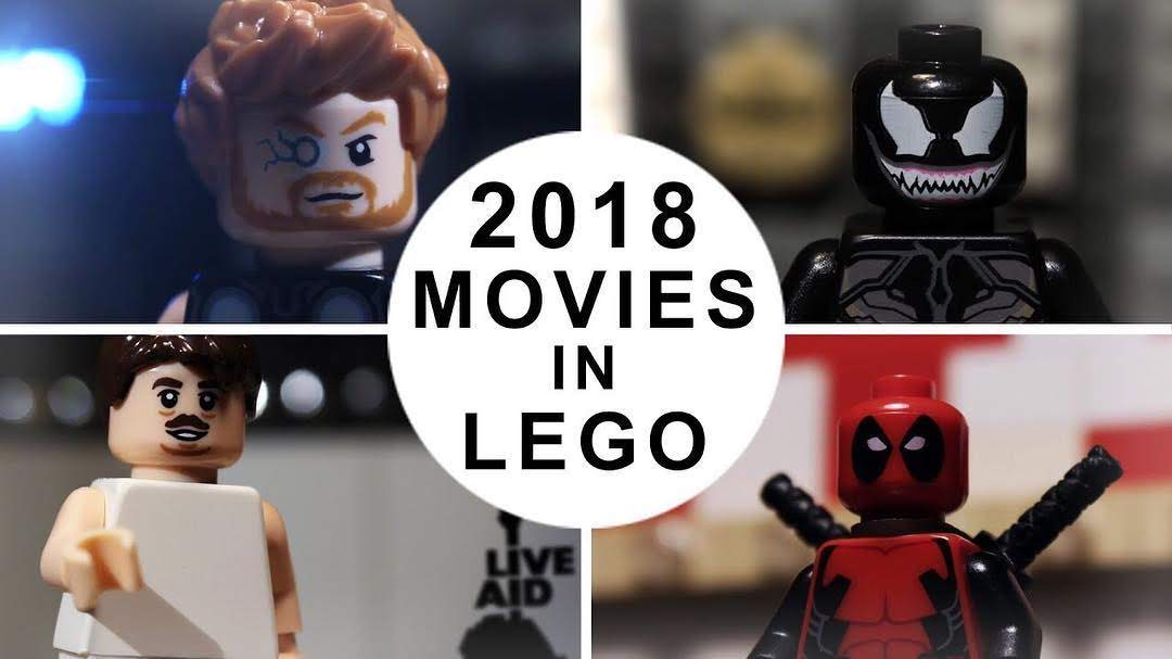 A Look Back to the Best Movies of 2018 in LEGO : 昨2018年公開映画の傑作を、LEGOアニメで振り返ったトリビュートのラップアップ・ビデオ ! !