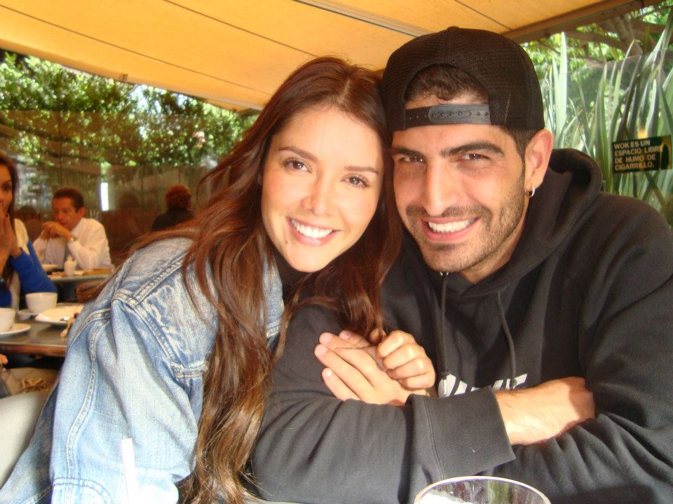 Actress Marlene Favela with her boyfriend-turned-fiancee Y Guy Davidyan
