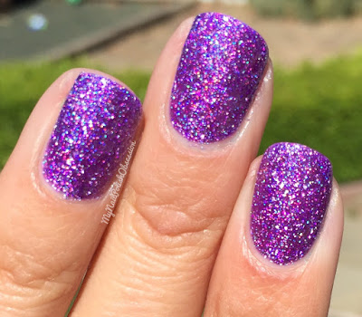 Dreamland Lacquer: #Autocorrect Collection, Violet, You're Turning Violent