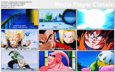 Download Film / Anime Dragon Ball Z Majin Buu Saga Episode 260 Bahasa Indonesia